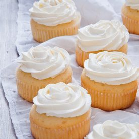Vanille Cupcakes mit Frosting